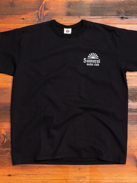 """Motorclub"" T-Shirt in Black"