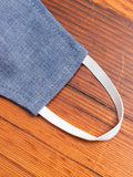 Cloth Face Mask in Selvedge Chambray