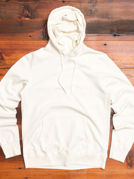 Lightweight Pullover Hoodie in Off-White
