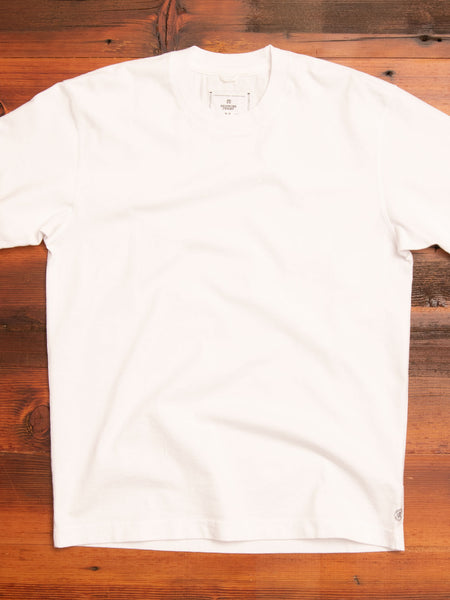 Midweight Jersey Relaxed T-Shirt in White