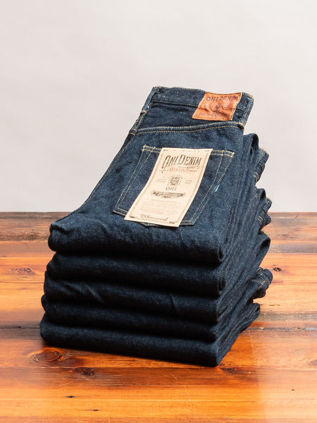 "246ZR ""Secret Denim"" 20oz Selvedge Denim - Regular Straight Fit"