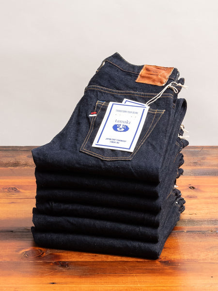 "NT ""Natural Indigo"" 16.5oz Selvedge Denim - Tapered Fit"