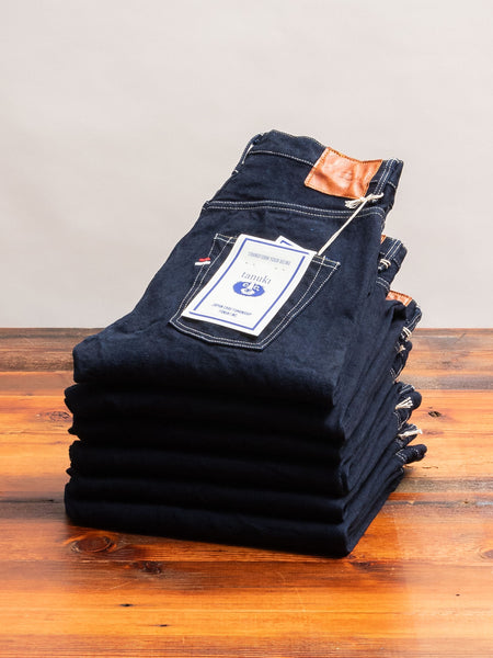 "YUHT ""Yurai"" 16.5oz Natural Indigo Selvedge Denim - High Tapered Fit"