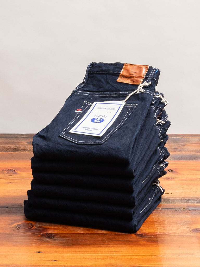 "YUT ""Yurai"" 16.5oz Natural Indigo Selvedge Denim - Tapered Fit"