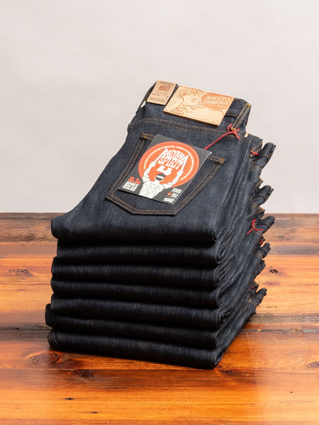 """Okayama Spirit 4"" 16oz Selvedge Denim - Super Guy Fit"