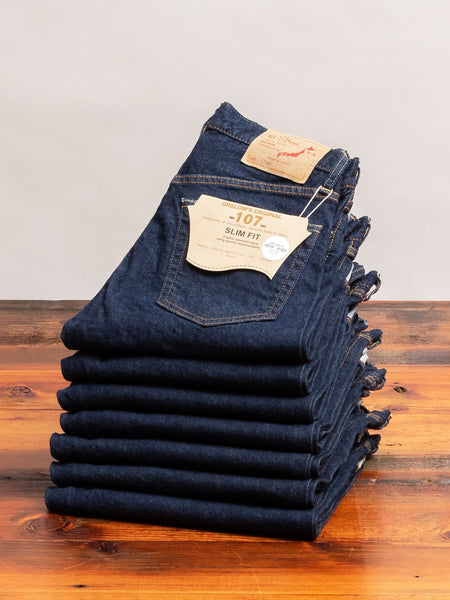 ST107 13.5oz Stretch Selvedge Denim - Ivy Fit