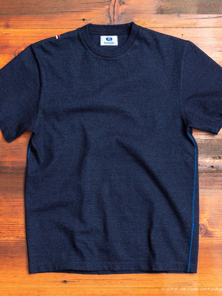 HSS Heavy Shinkai T-Shirt in Indigo