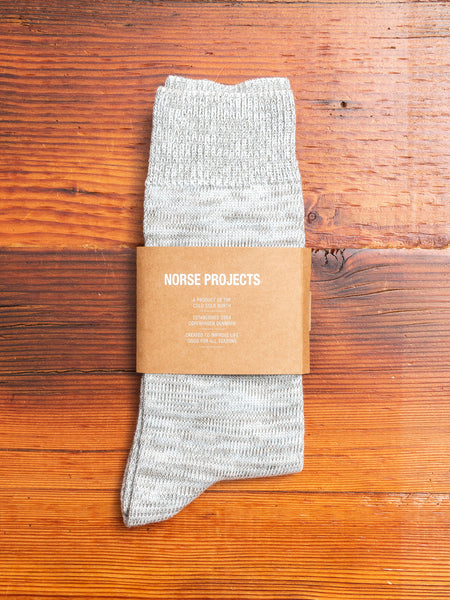 Bjarki Blend Socks in Washed Kelp