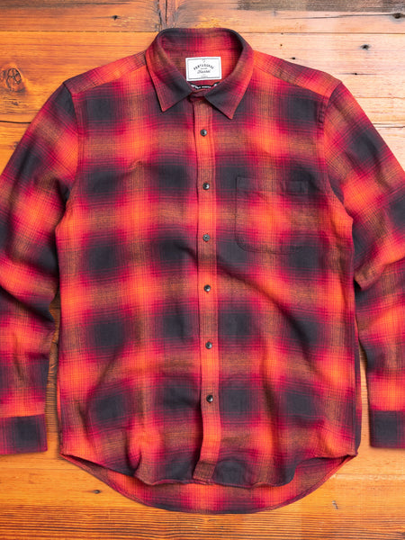 Light My Fire Button-Up Shirt in Red