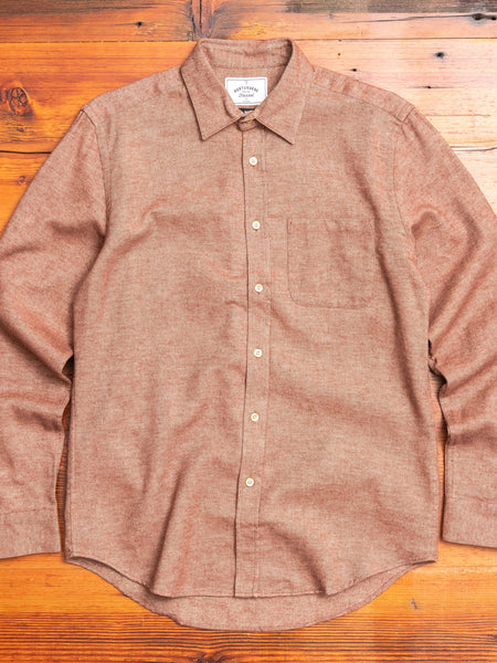 Teca Button-Up Shirt in Cinnamon