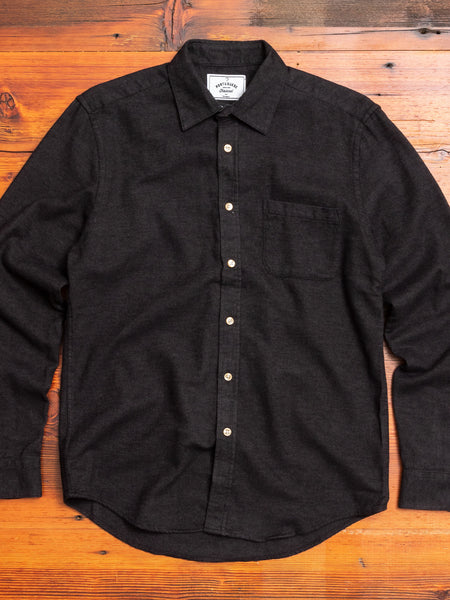 Teca Button-Up Shirt in Graphite