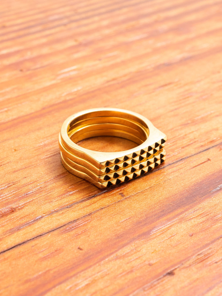 Stackable Ring in Gold