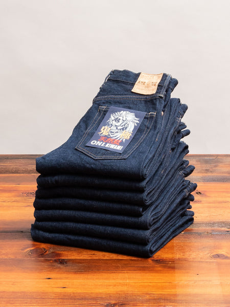 "246 ""Kiwami"" 16oz Natural Indigo Selvedge Denim - Clean Straight Fit"