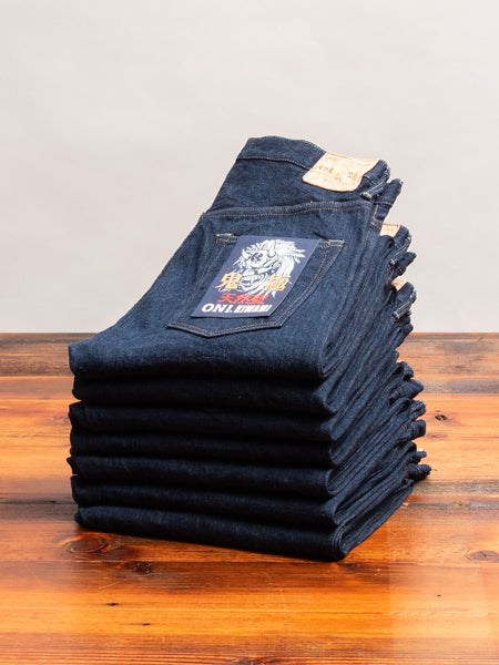 "679 ""Kiwami"" 16oz Natural Indigo Selvedge Denim - Strong Tapered Fit"