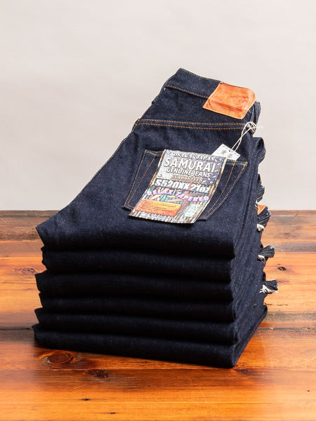 "S520XX21oz ""Cho-Kiwami"" 21oz Selvedge Denim - Relaxed Tapered Fit"