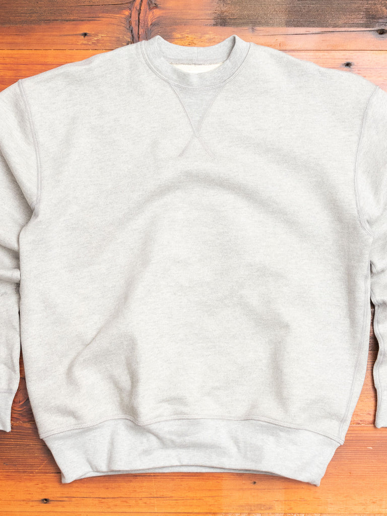 Deck Sweatshirt in Heather Gray