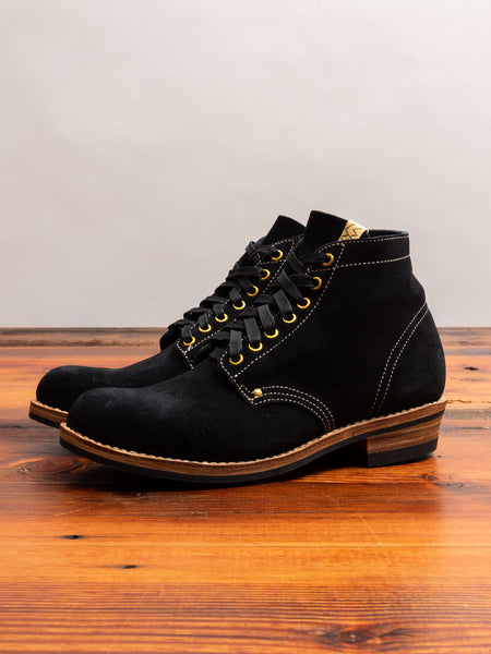 Brigadier Boots-Folk in Black