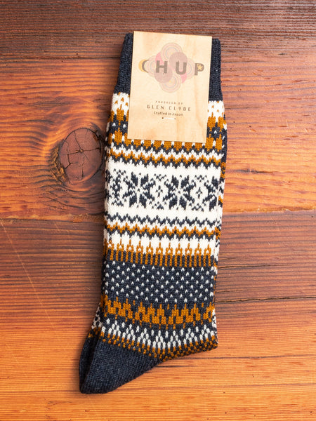 Kuusi Sock in Iron Blue