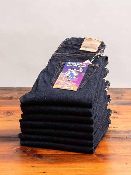 "S0255XX ""Ushiwaka"" 15oz Selvedge Denim - Slim Tapered Fit"