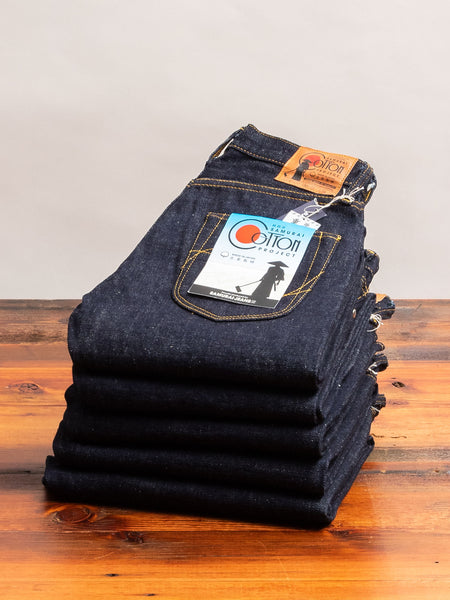 "SA051J ""Samurai Cotton Project"" 17oz Selvedge Denim - Middle Straight Fit"