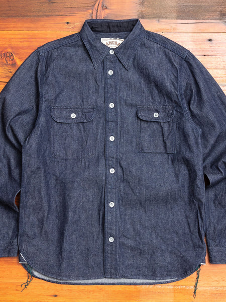SDS20-01-OVS Work Shirt in Indigo