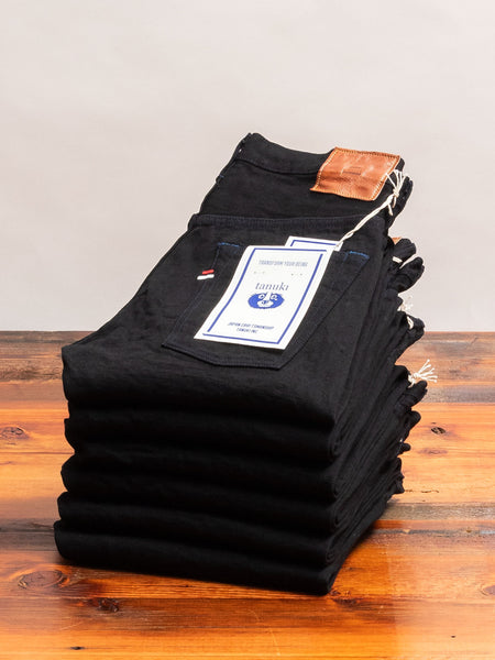 "BKT ""Black Retro"" 15oz Selvedge Denim - Tapered Fit"