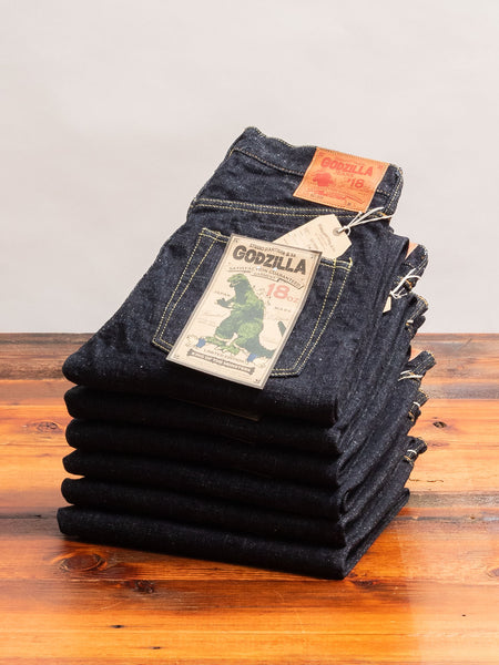"GZ-009 ""Godzilla"" 18oz Selvedge Denim - Straight Fit"