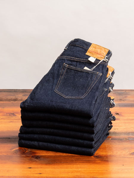800XX 14.5oz Rinsed Selvedge Denim - Regular Straight Fit