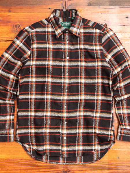 Country Plaid Flannel in Black