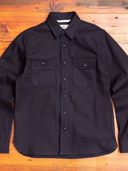"""ISC"" Work Shirt in Indigo"