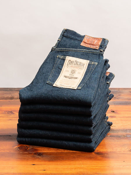 "288ZR ""Secret Denim"" 20oz Selvedge Denim - Classic Straight Fit"