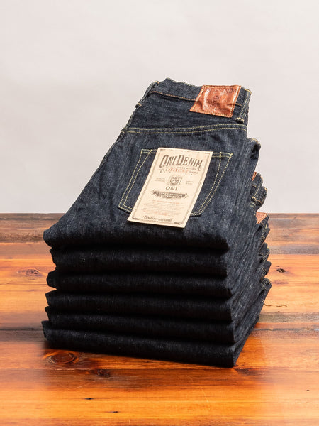 "902GC-KHN ""Kihannen"" 16oz Selvedge Denim - High Tapered Fit"