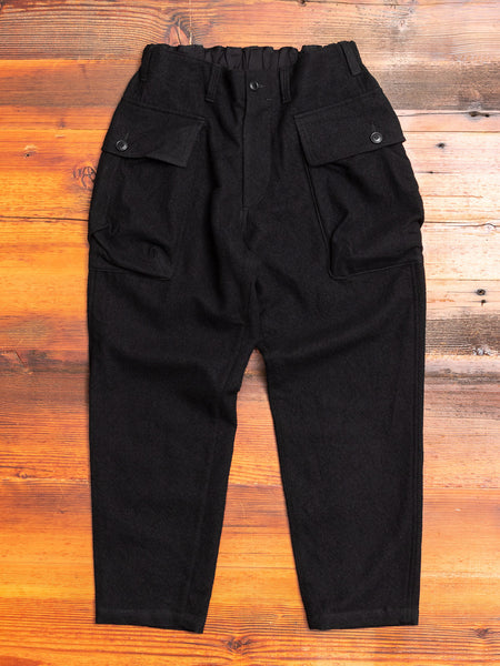 Military Trousers in Black