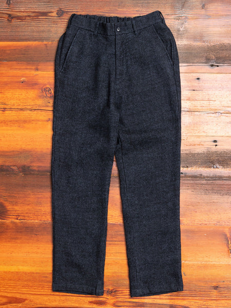 Pegtop Pants in Navy