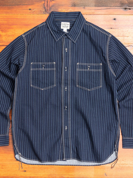 Wabash Button-Down Shirt in Navy