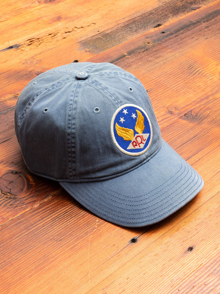 Twill Baseball Cap in Midnight Blue