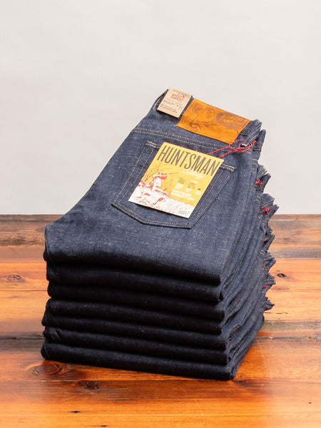 """Huntsman Selvedge"" 11.5oz Selvedge Denim - Weird Guy Fit"