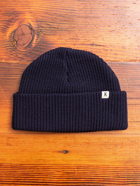 Short Watch Cap in Navy