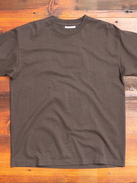 University T-Shirt in Charcoal