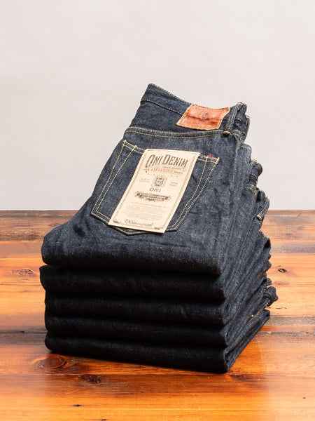"246-GC16 ""Greencast"" 16oz Selvedge Denim - Clean Straight Fit"