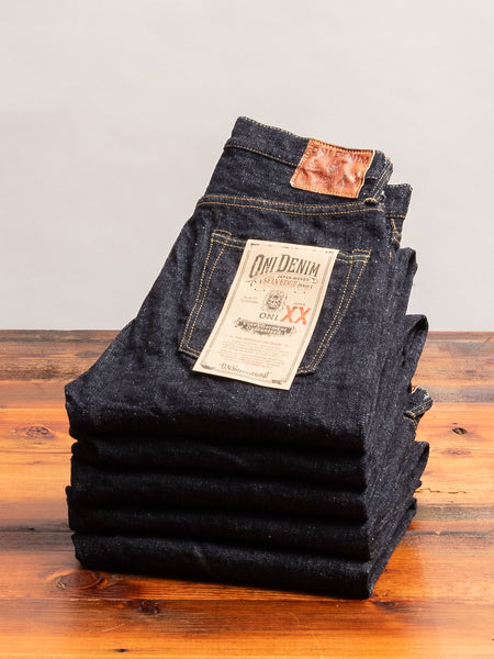 "585XX ""Low Tension"" 16.5oz Selvedge Denim - Slim Straight Fit"