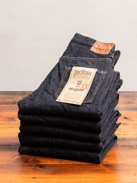 "902XX ""Low Tension"" 16.5oz Selvedge Denim - High Tapered Fit"