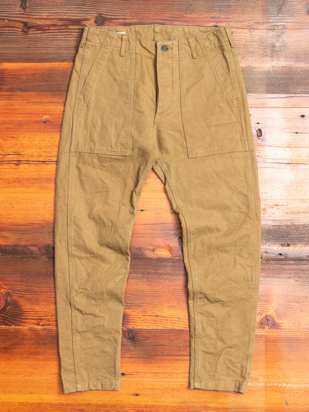 "YOUBKR ""Yoroi"" 25oz Canvas Baker Pant in Tan"