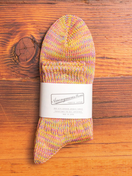 Melange Sock in Sherbert