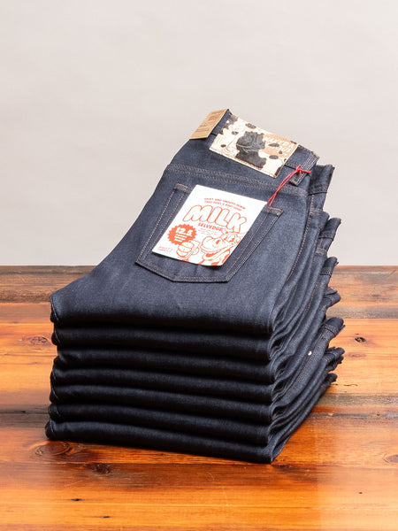 """Milk Selvedge"" 12.5oz Selvedge Denim - Weird Guy Fit"
