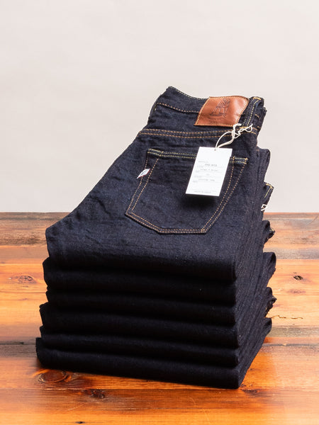 OG-013 14oz Organic Recycled Selvedge Denim - Slim Tapered Fit