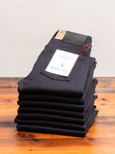 """10th Anniversary Left Hand Twill - Midnight Edition"" 13.75oz Selvedge Denim - Super Guy Fit"