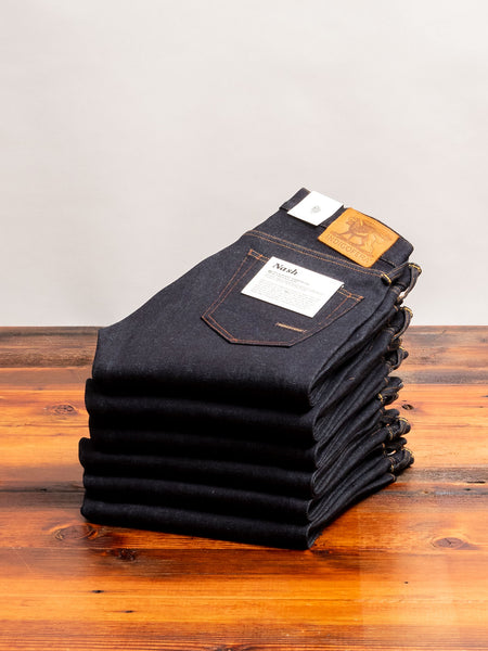 """No. 9"" 14oz Selvedge Denim - Nash Tapered"