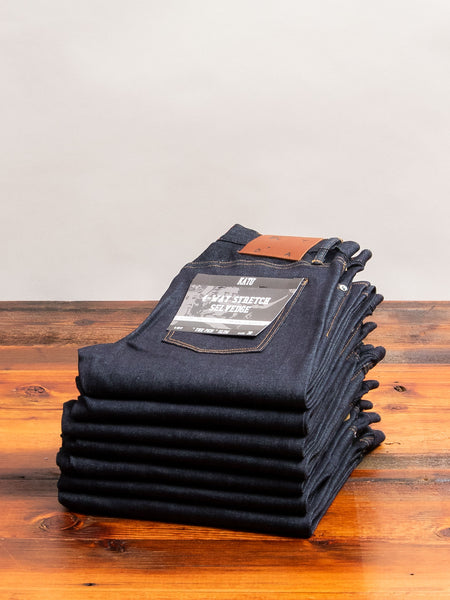 10.5oz Stretch Selvedge Denim - Pen Slim