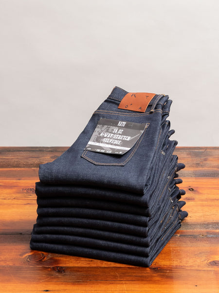 14oz Stretch Selvedge Denim - Pen Slim